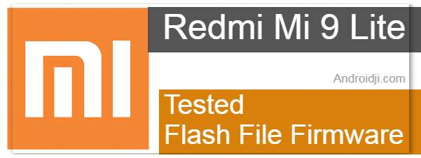 Redmi Mi 9 Flash File