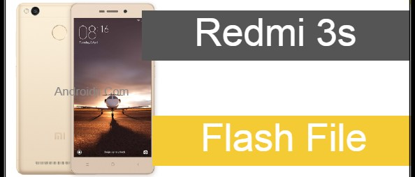Mi 3s flash file