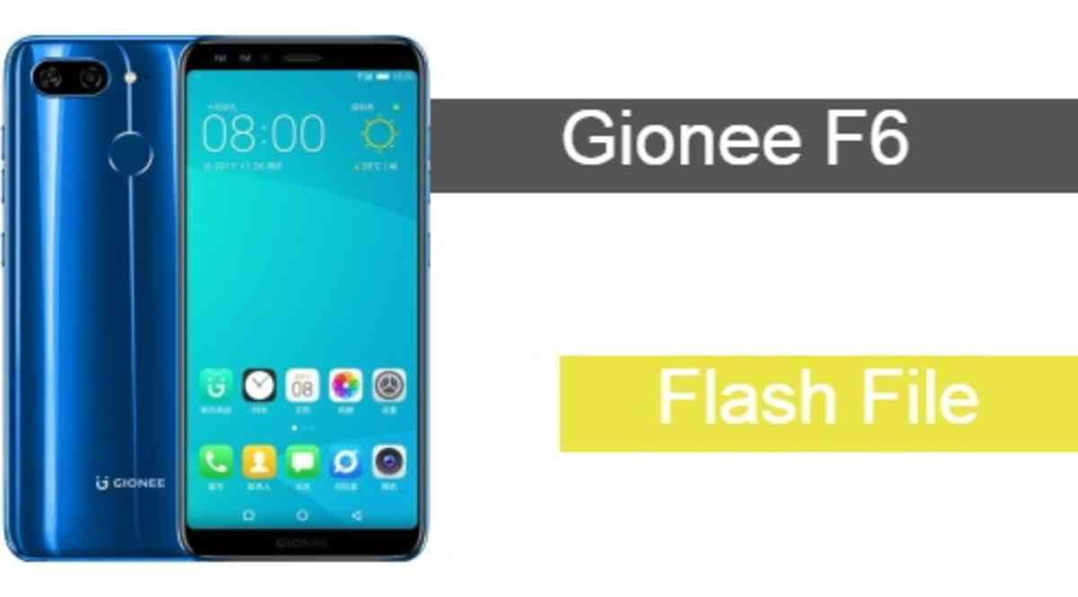 Gionee F6 Flash File Download Working File