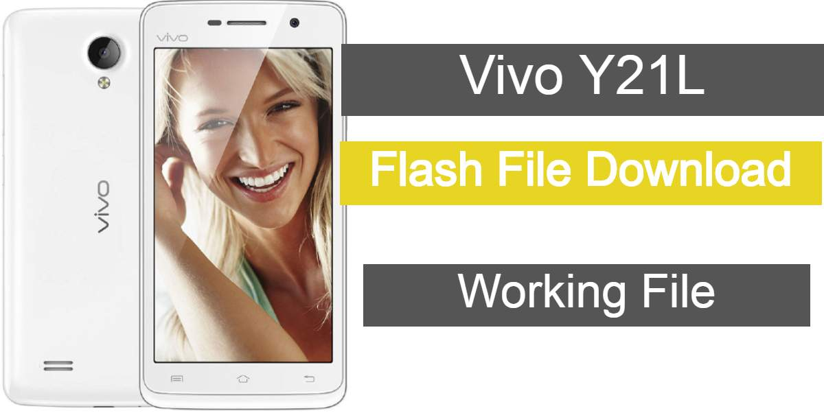 Vivo Y21L Flash File (Stock ROM) Download Tested & Working