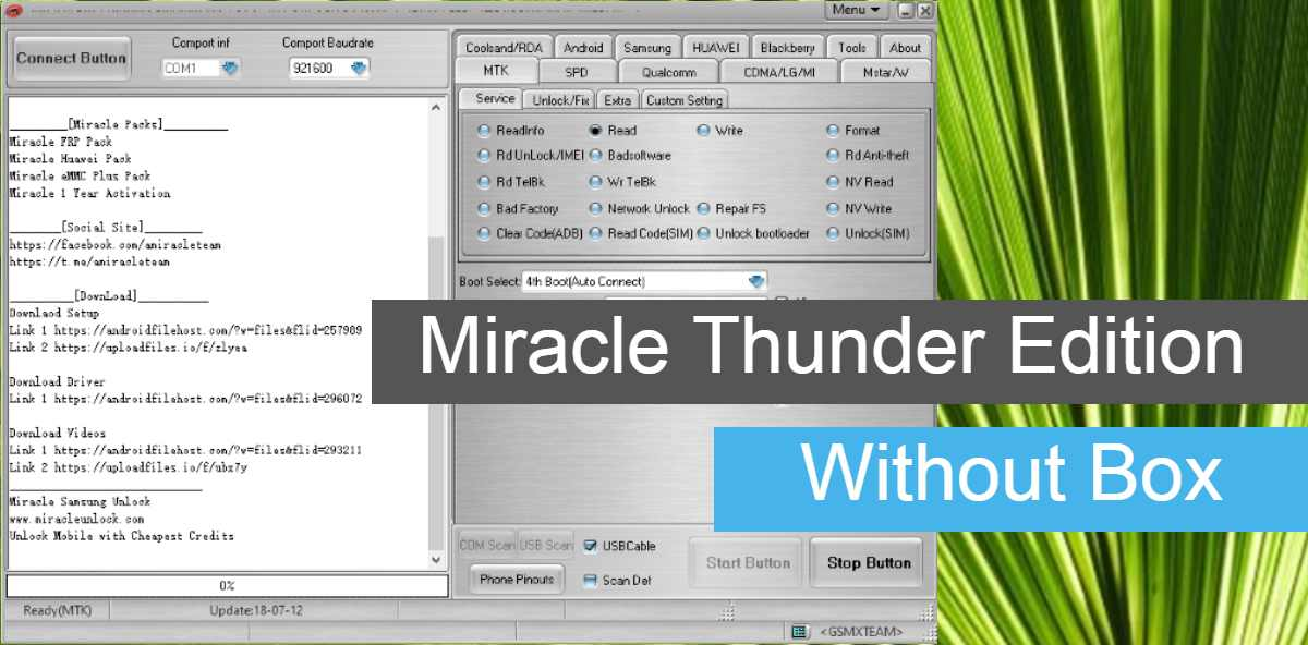 Miracle Thunder Edition Without Box Download (Letest Version)